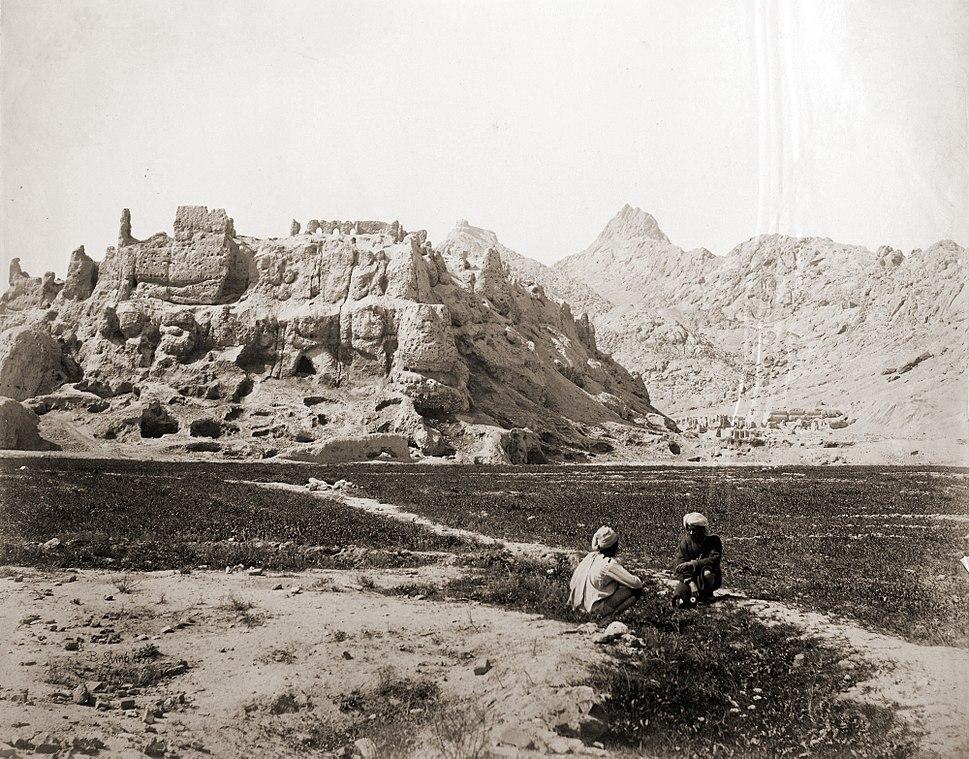Ruins of old Kandahar Citadel in 1881
