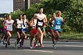 Runners at the pan am games marathon 2015.JPG