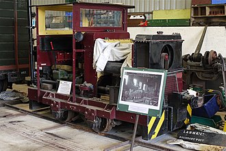 Irchester Narrow Gauge Railway Museum - Image: Ruston & Hornsby Diesel Shunter at Irchester Railway Museum Flickr mick Lumix