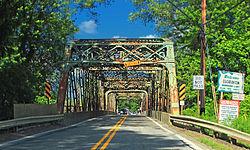 Adams Street Bridge over French Creek