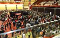 Rutgers University event for admitted students in basketball stadium.JPG