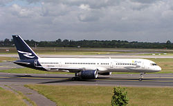 Boeing 757-200 der Ryan International Airlines