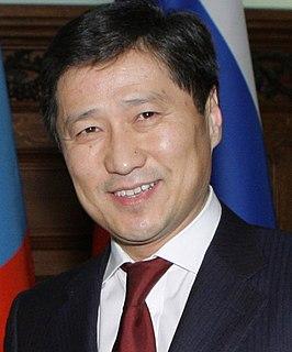 Sükhbaataryn Batbold Mongolian politician