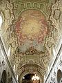 S.m. del carmine, int., affreschi di giuseppe romei tra quadrature di domenico stagi.JPG