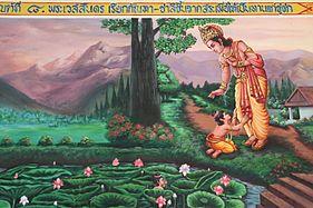 Analysis of the Vessantara Jataka and the Miao Shan Essay