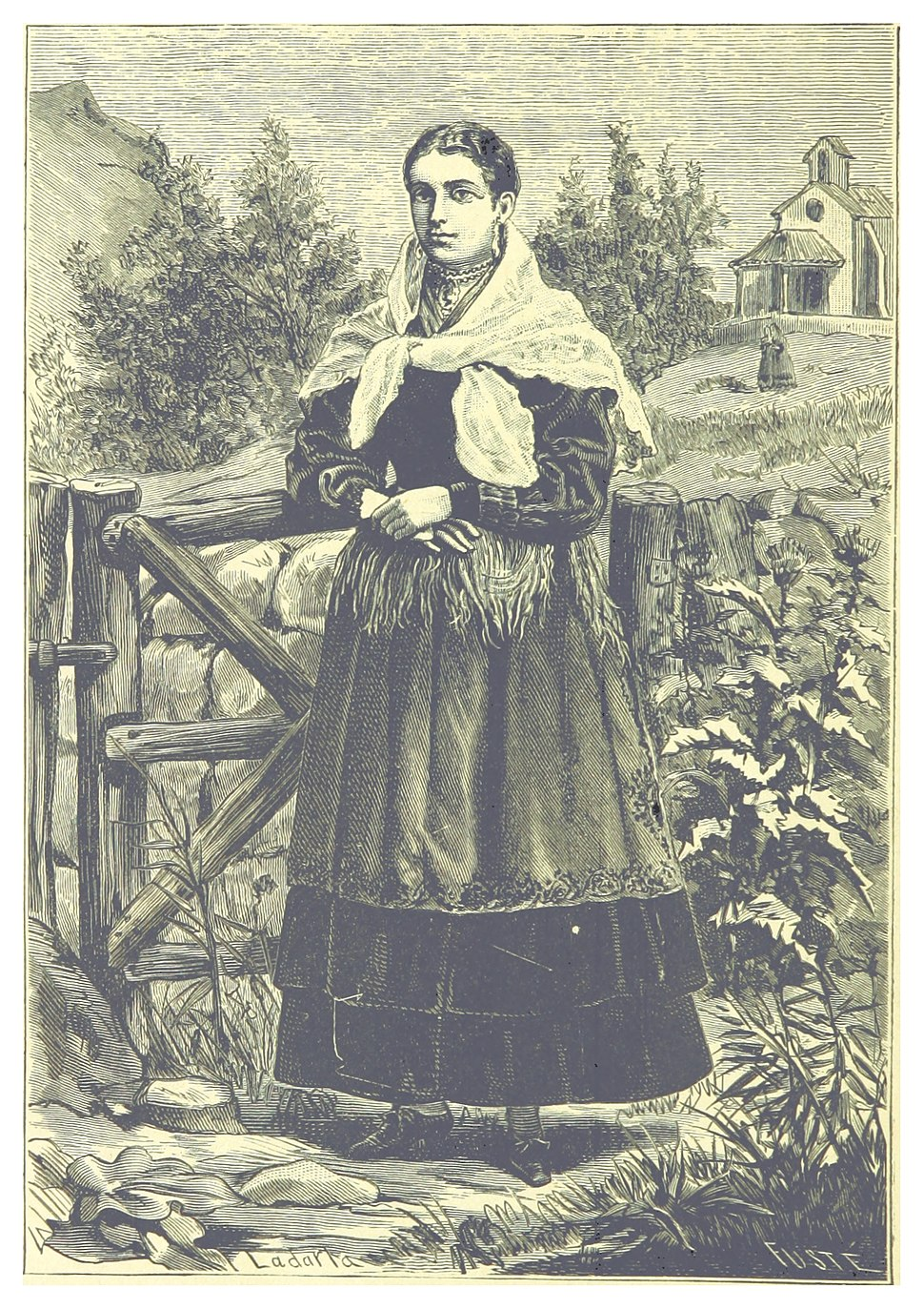 SAEZ(1886) p140 La Mujer Gallega