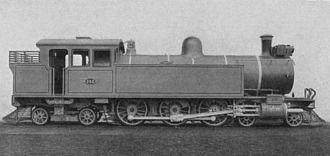 South African Class F 4-6-4T - CSAR Class F no. 260, SAR Class F no. 78