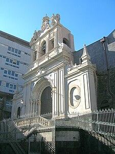 Chiesa di sant 39 agata al carcere wikipedia for Corso arredatore d interni catania
