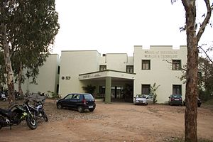 University of Hyderabad - SIP Building, University of Hyderabad
