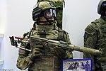 SK-EK bulletproof vest and LShZ 1+ helmet at Interpolitex-2016 01.jpg