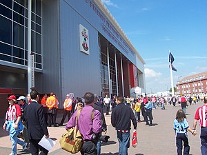 St Mary's Stadium - Front Facade