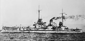 Nassau-class battleship - Image: SMS Westfalen LOC 25466u