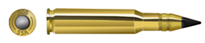 7.62 mm caliber - SSA 7.62mm 143gr AP rifle cartridge, bullet
