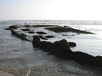 SS Monte Carlo - Image: SS Monte Carlo Shipwreck 2010 01 30