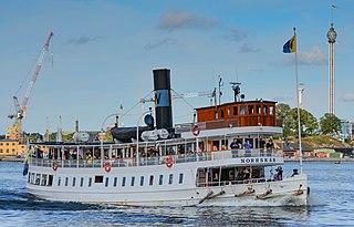 SS <i>Norrskär</i> listed historical ship in Sweden