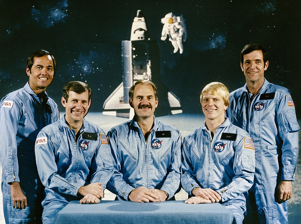 STS-41-C crew