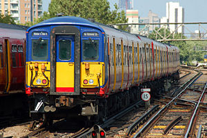 British Rail Class 455 - South West Trains Class 455/7 at Clapham Junction