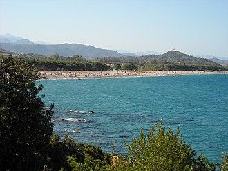 Cardedu - Beach of Sa perda e pera.