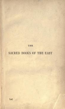 Sacred Books of the East - Volume 39.djvu