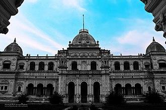 Bahawalpur - Sadiq Garh palace was completed in 1892