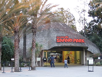 San Diego Zoo Safari Park - Entrance to the Park