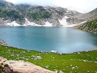 Saidgai Lake - Siadgai Lake, Ushirai Dara