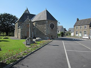 Saint-Ovin Commune in Normandy, France