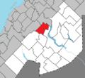 Saint-Pierre-de-Lamy Quebec location diagram.png