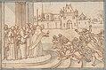 Saint Bernard presenting the host to Guillaume X, duc de Guyenne MET DP807119.jpg