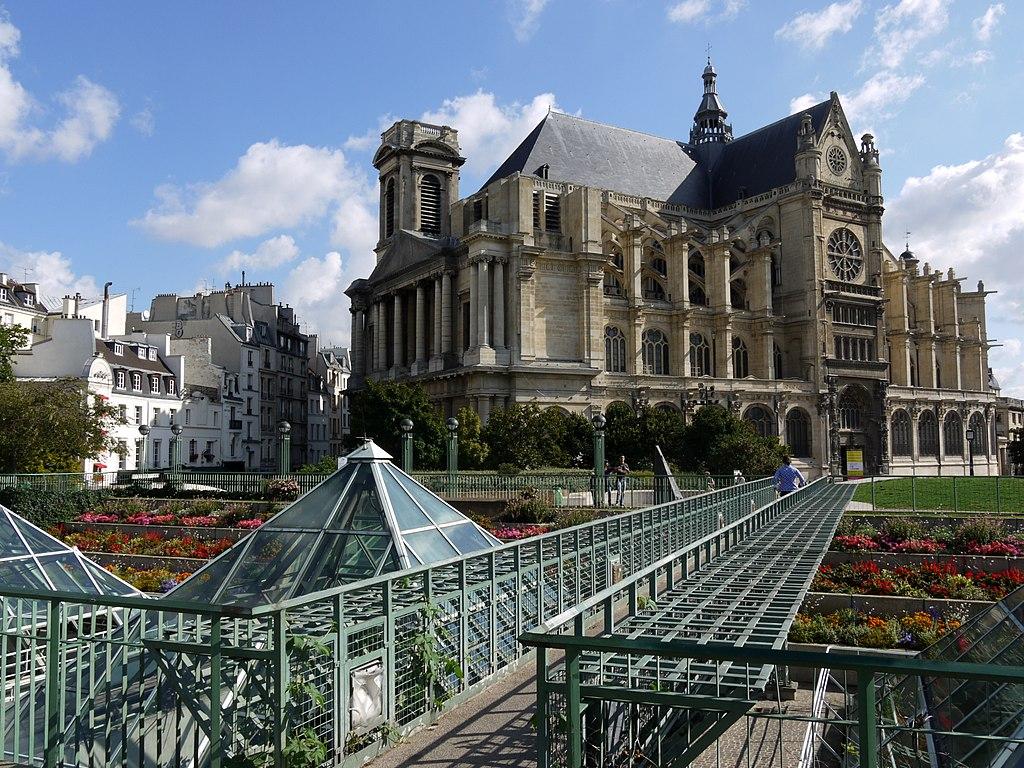 File saint eustache et jardin des halles paris p1060104 for Jardin paris