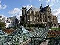 Saint Eustache et Jardin des Halles Paris P1060104.JPG