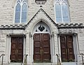 Saint Mary's Church entrance - Alexandria, Virginia.JPG