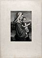 Saint Mary (the Blessed Virgin) with the Christ Child. Engra Wellcome V0033745.jpg