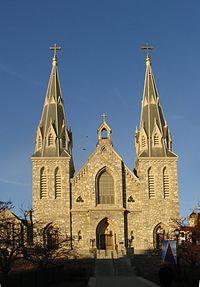 St. Thomas of Villanova Church, on the Villanova University campus.
