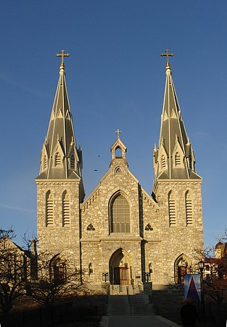 Order of Saint Augustine - St. Thomas of Villanova Church, on the Villanova University campus