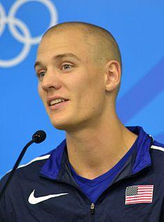 Sam Kendricks American athletics competitor