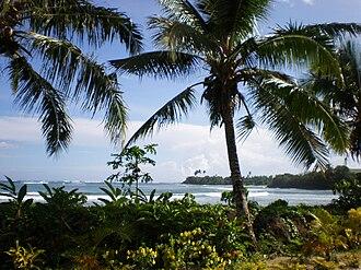Savai'i - Samoa scenic coastline