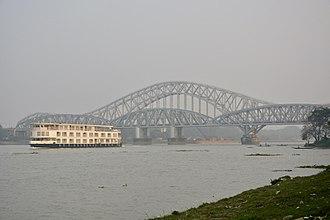 Naihati - Sampreeti Bridge and Jubilee Bridge
