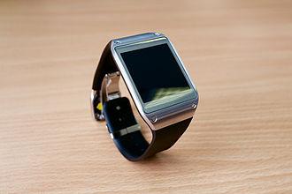 Samsung Galaxy Gear - Image: Samsung Galaxy Gear blank screen