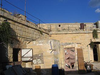 Fort Leonardo - Interior of Fort Leonardo