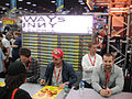 San Diego Comic-Con 2011 - It's Always Sunny in Philadelphia cast signing (Fox booth) (6039792178).jpg