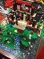 San Diego Comic-Con 2011 - Lego Ninja training dojo diorama (5976791163).jpg