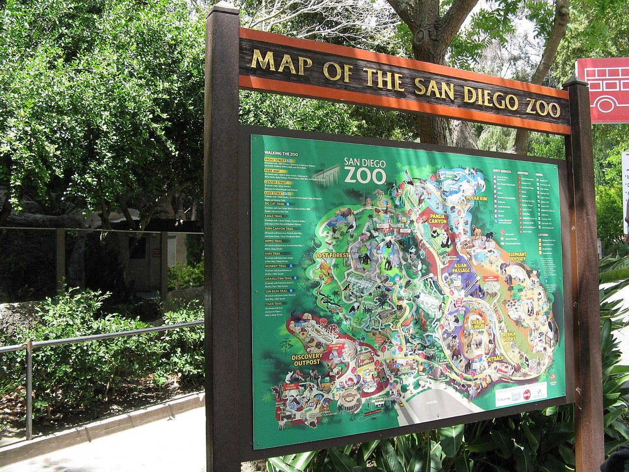 FileSan Diego ZOO Map Panoramiojpg Wikimedia Commons - San diego zoo map