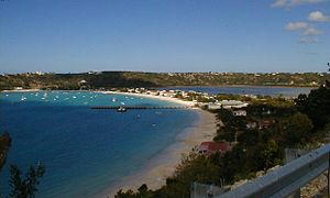 Overlooking Sandy Ground, Anguilla.