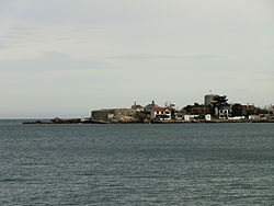 Sandycove with James Joyce Tower, Dublin, Ireland