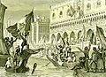 Sanesi - La proclamazione della Repubblica di San Marco, Marzo 1848 - litografia - ca. 1850.jpg