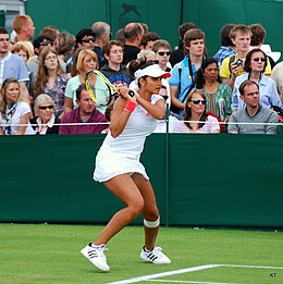 Sample Narrative Essay High School Sania Mirza During Her First Round Match With Virginie Razzano At Wimbledon Federalism Essay Paper also High School Admission Essay Sania Mirza  Wikipedia Thesis Essay