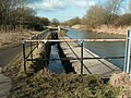 Sankey Canal overspill weir at Sankey Bridges - geograph.org.uk - 1705669.jpg