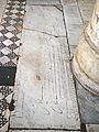 Santa Maria in Aracoeli Grabplatte Meister Aldus.JPG