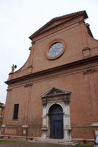 Santa Maria in Vado, Ferrara - Facade